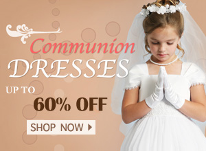 2017 Girls Lovely Communion Dresses