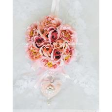 Elegant Silk Bridal Wrist Flower