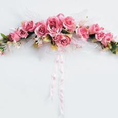 Dreamlike Villatic Roses Doorway / Mirror/ Headboard Flower