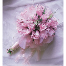 Delicated Dreamlike Villatic Rosebuds  Bride Bouquet - Pink