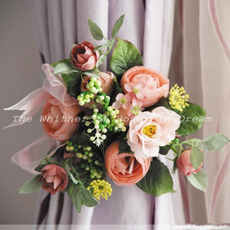 Elegant Fantasy Pastoral Silk Blossom Garland