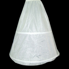 White Nylon Wedding Petticoats