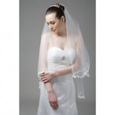 3 Layer Elbow Wedding Veil