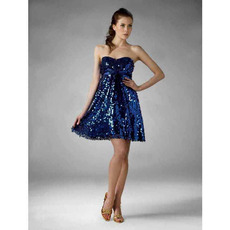 Affordable Chic A-Line Sweetheart Sleeveless Short Homecoming Dresses/ Prom Dresses