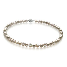 White 6-7mm Freshwater Pearl Necklace