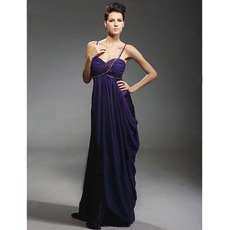 Discount Empire Long Evening Dress/ Sexy Sweetheart Chiffon Prom Dress