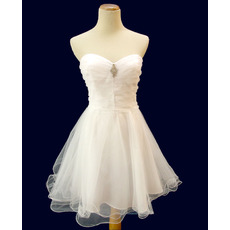 Affordable Cute A-Line Sweetheart Short Homecoming/ Graduation Dresses