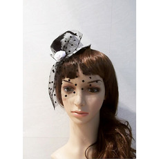 Fashion Tulle Fascinators/ Wedding Hats for Brides
