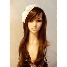 Elegant White Lace Fascinators/ Headpieces/ Headband for Brides