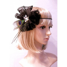 Gorgeous Black Lace Headpieces/ Headband for Brides