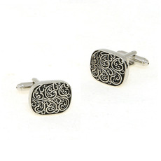 Unique Artware under Engraving Craft Cufflinks for Men with Box
