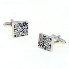 Square Picasso Design Tuxedo Shirt Cuffllinks for Wedding/ Business