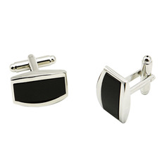 Elegant Rectangle Conch Shirt Cufflinks for Business/ Wedding