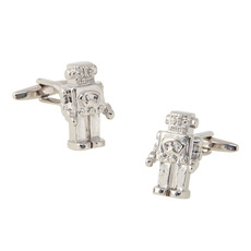 Discount Robot Ornaments Mens' Cufflinks for Party/ Wedding/ Business