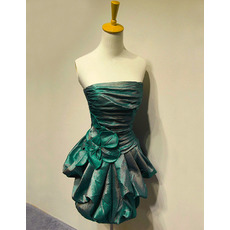 Discount Sexy Strapless Short Taffeta Homecoming/ Party Dresses