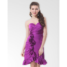 Affordable Sexy Sheath Sweetheart Short Homecoming/ Party Dresses