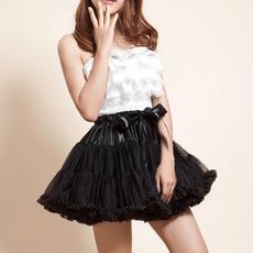 Sexy Black Tulle Mini Tutus/ Skirts/ Wedding Petticoats for Women