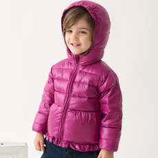 Inexpensive Girls/ Kids Winter Hooded Down Coats/ Jackets/ Snowsuits