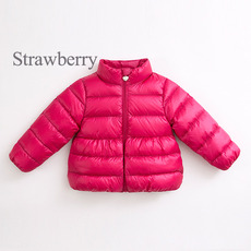 Discount Girls Kids Winter Full Zipper Down Coats/ Jackets/ Snowsuits
