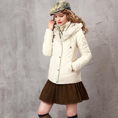 Women's Casual Winter Slim Solid Hooded Long Sleeves Down Coat Parka