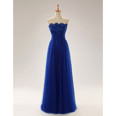 Discount Strapless Long Tulle Mother Dresses with Lace Jackets
