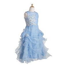 2018 New Style Floor Length Pick-Up Skirt Flower Girl Dresses
