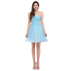 Affordable Sweetheart Mini/ Short Homecoming/ Sweet Sixteen Dresses