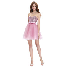 Cute Sweetheart Mini/ Short Homecoming/ Sweet Sixteen Dresses