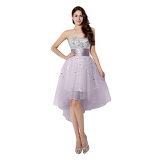 Custom Sweetheart High-Low Short Homecoming/ Cocktail Dresses