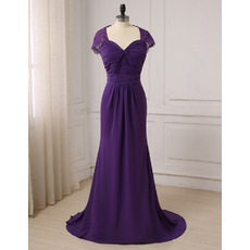 Custom Sweetheart Floor Length Chiffon Evening/ Prom/ Formal Dresses
