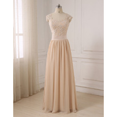 Elegant Sweetheart Floor Length Chiffon Evening/ Prom/ Formal Dresses