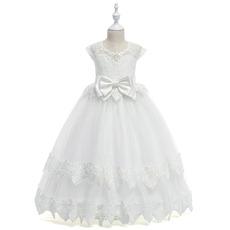 Adorable Ball Gown Floor Length Flower Girl Dresses for Wedding
