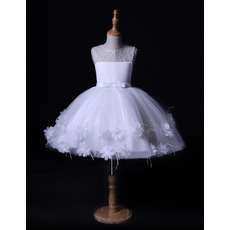 Lovely Ball Gown Mini/ Short Flower Girl Dresses for Wedding