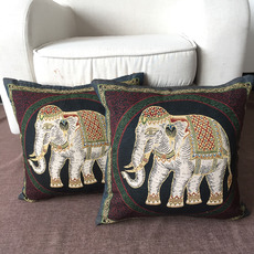 Discount Cartoon Pillowcase Elephant Decorative 18