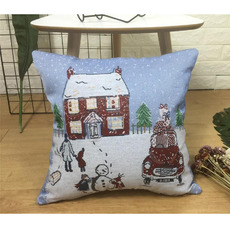 2018 Pillowcase Snow House Decorative 18