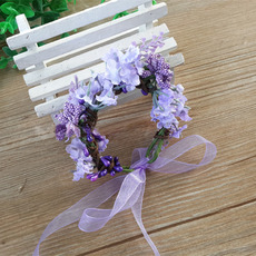 Kids Girls Lavender Headband Hairband Headwear Hair Accessory