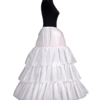 3 Bone Hoop Tulle Wedding Petticoats