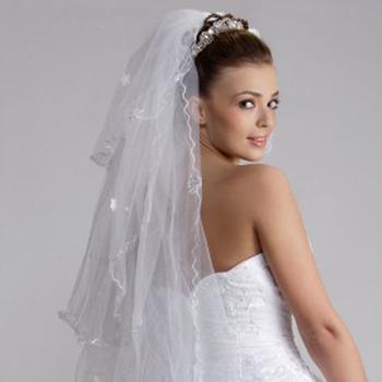 3 Layer Waltz Wedding Veil