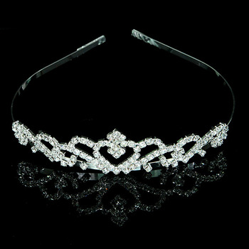 Alloy With Rhinestone Bridal Wedding Tiara