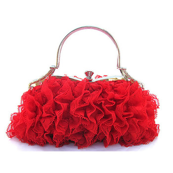 Lace Evening Handbags/ Clutches/ Purses with Rhinestone