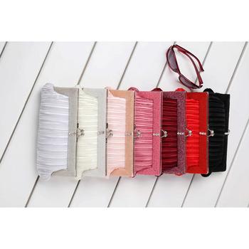 Satin Evening Handbags/ Clutches/ Purses with Beading