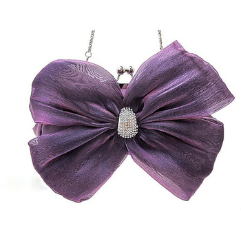 Silk Evening Handbags/ Clutches/ Purses with Bowknot