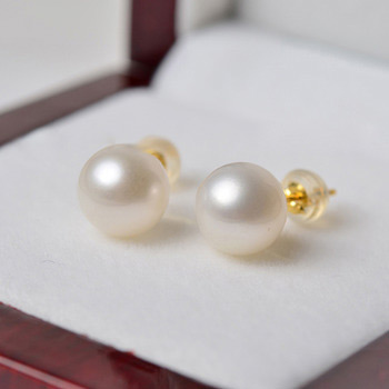 Affordable White/ Pink/ Purple Freshwater Natural Pearl Earring Set