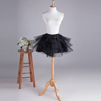 Women's Cute Party Black Mesh Mini Tutus/ Skirts/ Wedding Petticoats