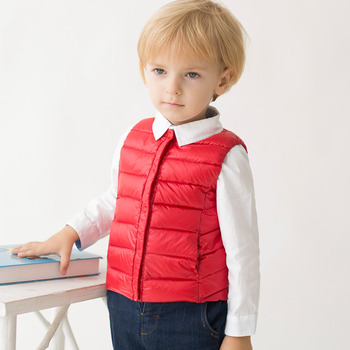 2019 New Boys/ Girls/ Baby Fall Winter Down Coats/ Jackets/ Vests