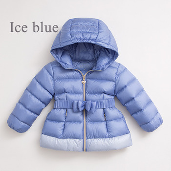 Discount Girls Kids Winter Long Solid Down Coats/ Jackets/ Snowsuits
