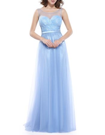 Sexy Sleeveless Floor Length Taffeta Organza Evening/ Prom Dresses