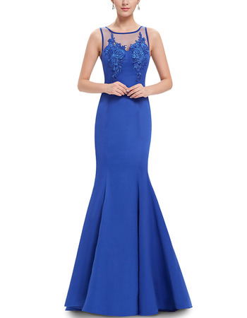 Affordable Mermaid Floor Length Satin Evening/ Prom/ Formal Dresses