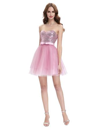 Cute Sweetheart Mini/ Short Homecoming/ Sweet Sixteen Dresses