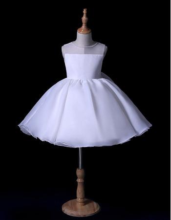 2019 New Style Ball Gown Mini/ Short Flower Girl Dresses for Wedding
